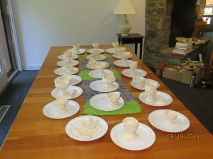 Chalices crafted at Retreat